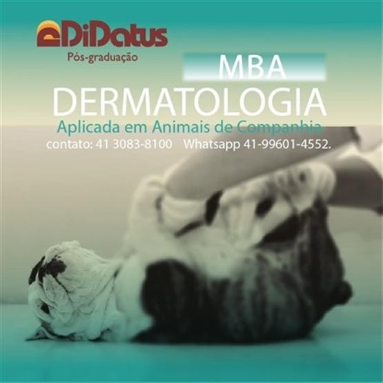 MBA: Dermatologia Aplicada Em Animais de Companhia