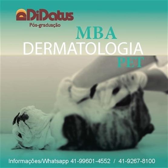 MBA em Dermatologia Pet