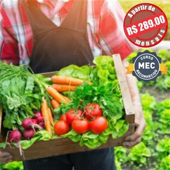 Agricultura Orgânica - Pós Graduação EAD