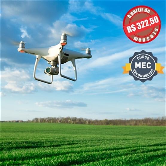 Drones e Vants: Aplicações, Legislação e Planejamento - Pós Graduação EAD