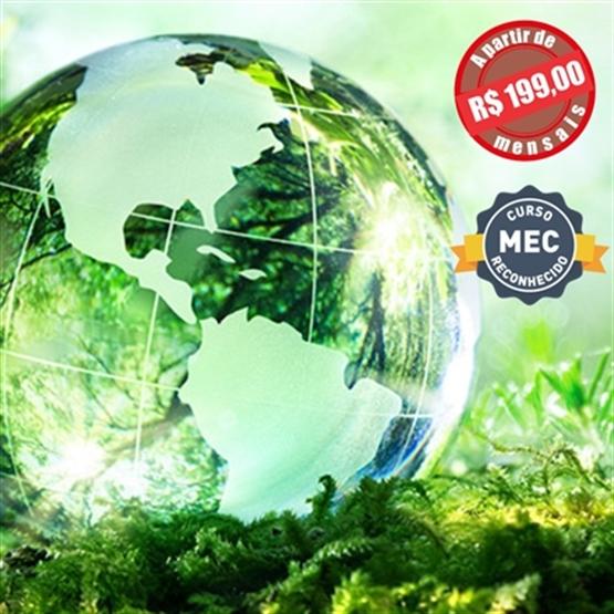 MBA em Gestão Ambiental e Ecologia EAD