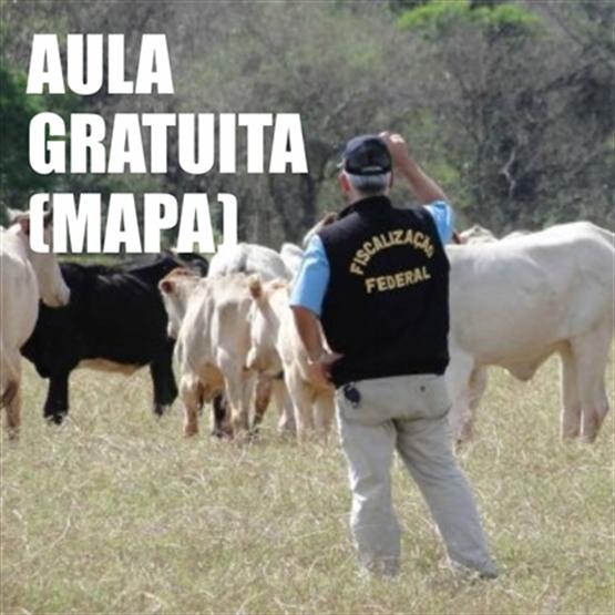 AULA GRATUITA DO MAPA