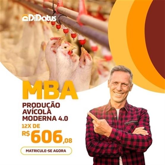 MBA EM PRODUÇÃO AVÍCOLA MODERNA 4.0