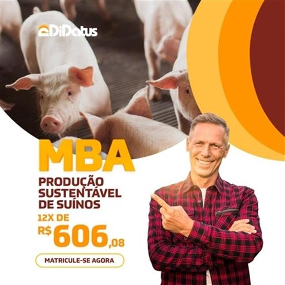 MBA EM PRODUÇÃO SUSTENTÁVEL DE SUÍNOS